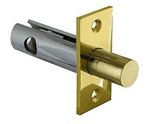 Задвижка врезная DB 860 GP (золото) 60мм (аналог Страж ЗдВрР)