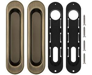 Ручки для Punto (Пунто) раздвижных дверей Soft LINE SL-010 AB
