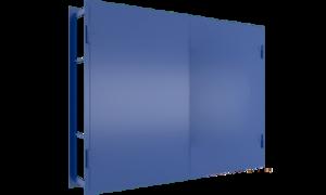 Гаражные ворота с ответной коробкой СВ-1