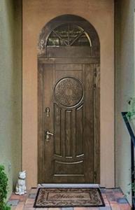 """Двери из корабельной фанеры """"Леон"""""""