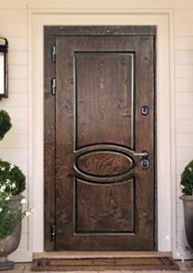 """Двери из корабельной фанеры """"Дуэт"""""""