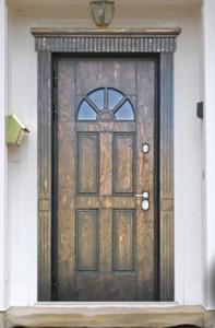 """Двери из корабельной фанеры """"Интеграл"""""""