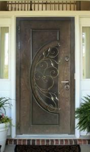 """Двери из корабельной фанеры """"Лира"""""""