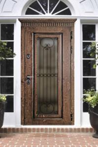 Двери из корабельной фанеры