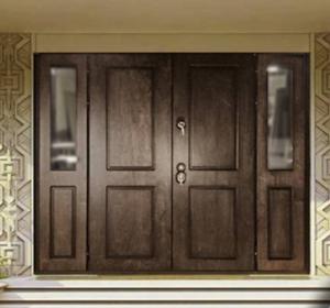 """Двери из корабельной фанеры """"Модерн"""""""