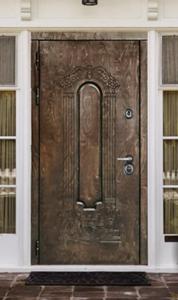 """Двери из корабельной фанеры """"Лувр"""""""