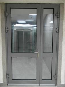 Противопожарная алюминиевая дверь АЛ-4