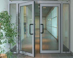 Противопожарная алюминиевая дверь АЛ-5