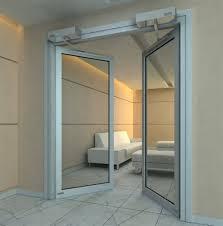 Противопожарная алюминиевая дверь АЛ-9