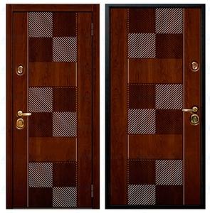 """Металлическая дверь """"Диагональ"""""""