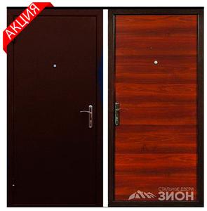 Металлическая дверь «ЭКОНОМКА»