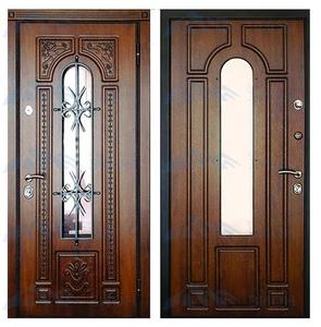 """Металлическая дверь """"Фасад-4"""""""