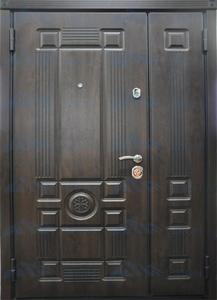 """Двустворчатая металлическая дверь """"Император"""""""