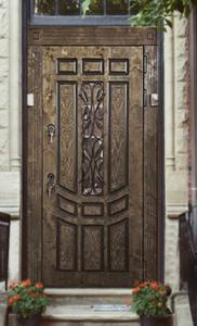 """Двери из корабельной фанеры """"Бланка"""""""