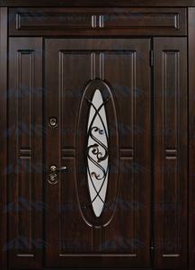 """Двустворчатая металлическая дверь """"Монарх"""""""