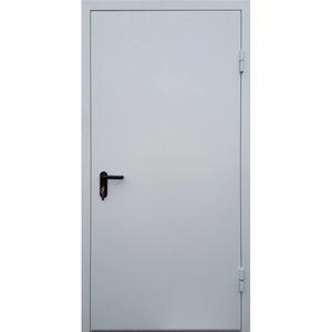Однопольные оцинкованные двери