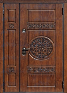 """Двустворчатая металлическая дверь """"Рамзес"""""""