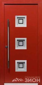 Дверь входная оцинкованная «S6»