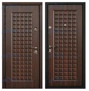 """Металлическая дверь """"Шоколадка"""""""
