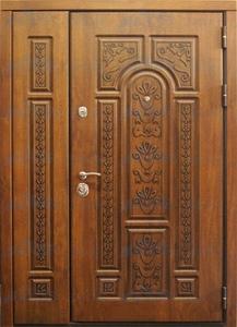 """Двустворчатая металлическая дверь """"Зион 6"""""""